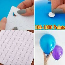 100/1000Points Balloon Attachment Glue Dot Attach Balloons To Ceiling Wall Decor