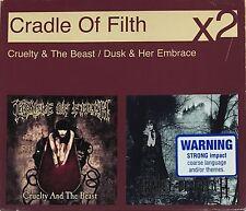 CRADLE OF FILTH 2CD BOX SET OZ Rare