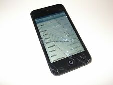 Apple iPod Touch 4th Generation Black ( 32GB ) - Screen Cracked - Full Working
