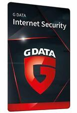 G DATA Internet Security 2021(2022) 3 PC Deutsch  - 12 Monate  Vollversion ESD