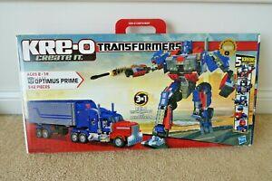 2010 HASBRO KRE-O TRANSFORMERS OPTIMUS PRIME SET 30689 / MISB / NEW SEALED / g1