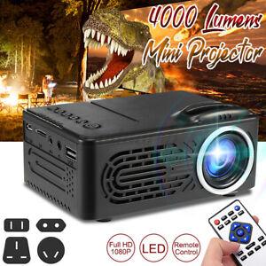 Mini LED 1080P Projektor Handy Multimedia Heimkino Beamer Home Theater