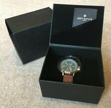 Jeff Banks London 2012 Wristwatch unused in original packaging etc