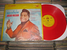 JACKIE WILSON LP HIGHER AND HIGHER RED TAIWAN WAX SWEET NORTHERN SOUL R&B FUNK