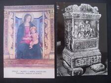 2 CARTOLINE PERUGIA SPELLO  S. MARIA MAGGIORE CAPPELLA BAGLIONI