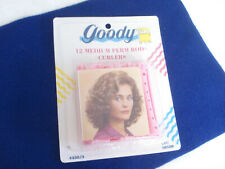 Vintage 1991 GOODY 12 Medium Perm Rod Curlers Mint in Sealed Package