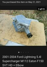 New Listing2001 2004 Ford Lightning 54l Supercharger M112 Eaton F150 Svt Hd Elbow