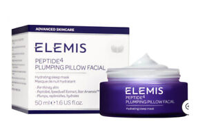 NIB Elemis Peptide4 Plumping Pillow Facial Full Size .5oz  $65 Value!