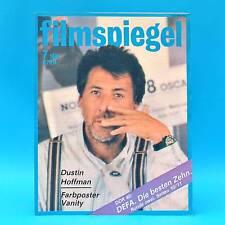 DDR Filmspiegel 7/1989 Tony Curtis Dustin Hoffman Anthony Delon Kevin Kline Q