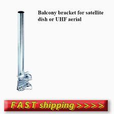 400x40mm Balcony bracket - set - for satellite dish or UHF - Galvanised steel