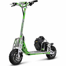 Uberscoot 70x 2-Speed Gas Scooter - Green - Folds