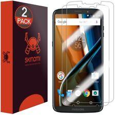 Skinomi 2-Pack Clear Screen Protectors for Motorola Moto Z3 Play/Verizon Moto Z3