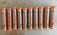10 Count Zipfizz Orange Healthy Energy Tubes (100mg Natural Caffeine)