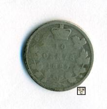 Canada 1887  10cents Coin  Good