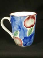 Painted Fruit Coffee Mug Cye Cup Ceramic Gift Replacement Collectible Vintage