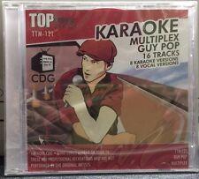TOP TUNES KARAOKE DISC MULTIPLEX HITS GUY POP CD+G 16 TRACKS TTM-121