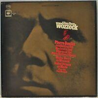 Alban Berg - Wozzeck - Pierre Boulez - CBS 3221 0002 - Stereo 2 LP Box Set
