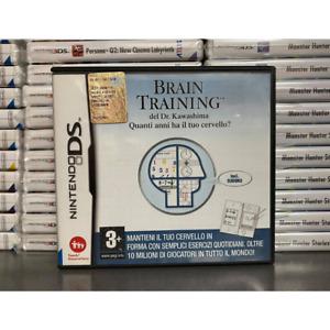 BRAIN TRAINING NINTENDO DS COMPATIBILE 3DS 2DS USATO ESERCIZI MULTIGIOCHI