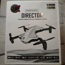 Protocol Director Foldable Drone With Live Streaming Camera G089