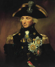 Custom Lemuel Francis Abbott Oil Painting repro Rear-Admiral Sir Horatio Nelson