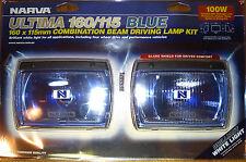 NARVA ULTIMA 160/115 BLUE DRIVING SPOT FLOOD 4WD LIGHTS