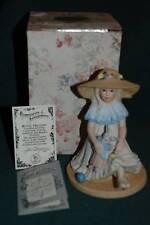 JAN HAGARA Figurine - MIB #S20510 W/COA - APRIL