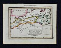 1832 Murphy Map - Mauritania Numidia Carthage - Morocco Algeria Tunis Africa