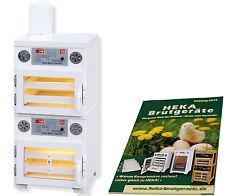 Heka FAVORIT 84 + S - Incubateur avec séparé Dispositif d'Éclosion, pour 96+100