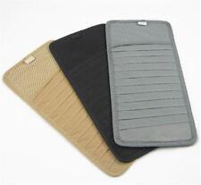 Car Sun Visor CD DVD Card Case Storage Holder Organizer Pocket Bag Non-woven ONE