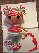 Lalaloopsy Large Doll Mint E Stripes and pet