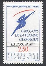 France Olympics Postal Stamps