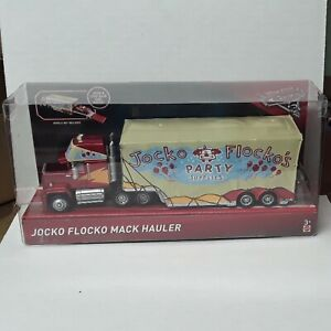 New - JOCKO FLOCKO MACK HAULER - Disney Pixar CARS 3 Semi Truck OPENS - FHG15