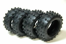 TAMIYA 1/10 front and rear block tires set hotshot boomerang super sabre bigwig