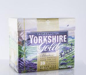 Taylors of Harrogate - Yorkshire Gold Tea - 80 Tea Bags