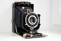 OLD RARE Zeiss Ikon Compur DRP Germany Folding Camera Medium Format SUPER