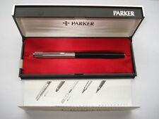 C1970S VINTAGE PARKER FIBRE TIP PEN IN ITS ORIGINAL BOX & INSTRUCTIONS