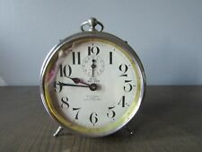 Antique Westclox Big Ben Peg Leg Alarm Clock Patent Date Feb. 10, 1914