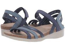 NEW Munro Summer Sandal, Blue Combo Leather, Women Size 7.5 W,  $189