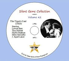 """DVD """"The Tiger's Coat"""" (1920) Lawson Butt, Tina Modotti,M.Stedman, Classic Drama"""
