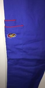 Kansas Jayhawks Scrubs  Pants Large NEW NCAA Licensed Scrubwear
