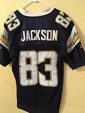 NFL Reebok Authentic San Diego Chargers Vincent Jackson #83 Stitched Jersey