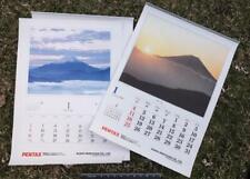 Lot of 2 Pentax Asahi Camera Calendar 1998 2000 g25