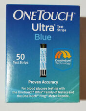 One Touch Ultra Blood Glucose Diabetic Test Strips 50 ct. EXPIRED 04/30/2018