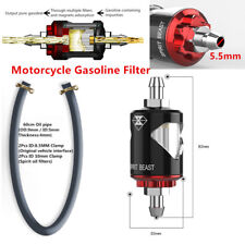 Motorcycle Gasoline Filter Oil Fuel Filter Prevent Impurities Aluminum L1 Superb