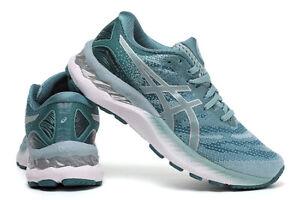 Women's ASICS GEL-NIMBUS 23 Cushion Breathable Running Athletic Sports Shoes HOT