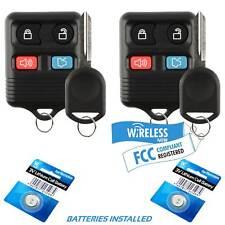 2 Car Keyless Entry For 2000 2001 2002 2003 2004 2005 2006 Ford Explorer + Key