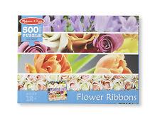 Melissa & Doug Flower Ribbons Cardboard Jigsaw #9036 BRAND NEW
