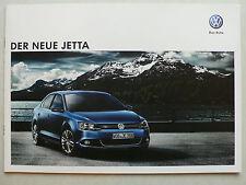 Prospekt Volkswagen VW Jetta zur Premiere, 9.2010, 20 Seiten