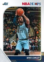 Mike Conley 2019-20 Panini NBA Hoops Basketball Base Card #186 Utah Jazz