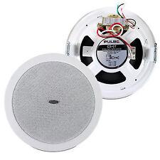 Pulse Ls0377515 100 Volt Line Ceiling Install Wall Mount Speaker 6 Watt
